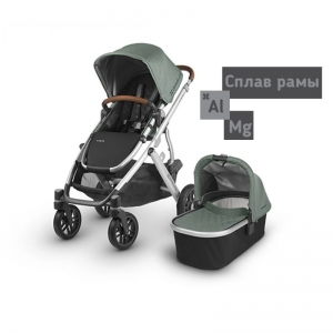 Коляска 2 в1 UPPAbaby Vista 2018 Sage-Army Green