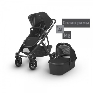 Коляска 2 в1 UPPAbaby Vista 2018 JAKE Black
